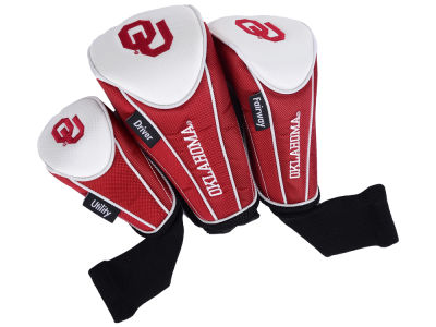 Oklahoma Sooners 3-pack Headcover Set