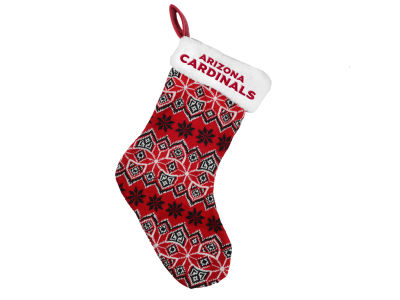 Arizona Cardinals Ugly Sweater Knit Team Stocking