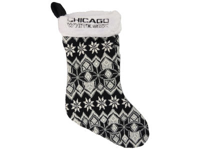 Chicago White Sox Ugly Sweater Knit Team Stocking
