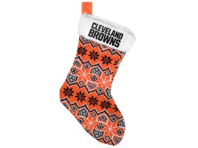 Cleveland Browns Ugly Sweater Knit Team Stocking