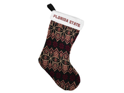 Florida State Seminoles Ugly Sweater Knit Team Stocking