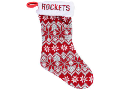 Houston Rockets Ugly Sweater Knit Team Stocking