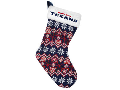 Houston Texans Ugly Sweater Knit Team Stocking