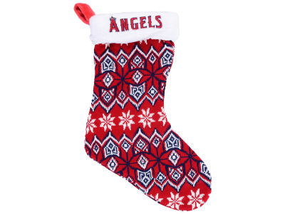 Los Angeles Angels Ugly Sweater Knit Team Stocking