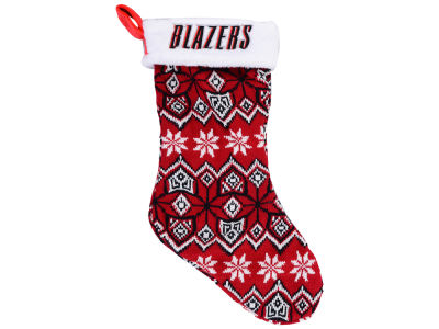 Portland Trail Blazers Ugly Sweater Knit Team Stocking