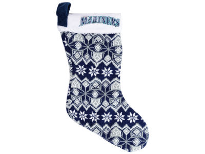 Seattle Mariners Ugly Sweater Knit Team Stocking
