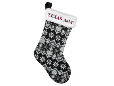 Texas A&M Aggies Ugly Sweater Knit Team Stocking