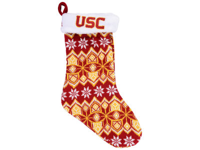 USC Trojans Ugly Sweater Knit Team Stocking