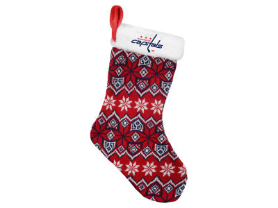 Washington Capitals Ugly Sweater Knit Team Stocking