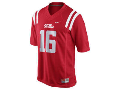 Ole Miss Rebels #16 NCAA Replica Football Game Jersey