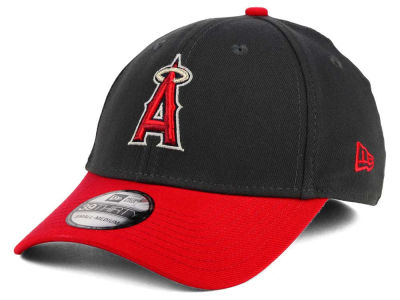Los Angeles Angels New Era MLB Graphite Team Classic 39THIRTY Cap