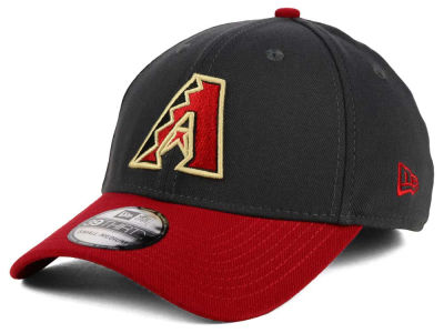 Arizona Diamondbacks New Era MLB Graphite Team Classic 39THIRTY Cap