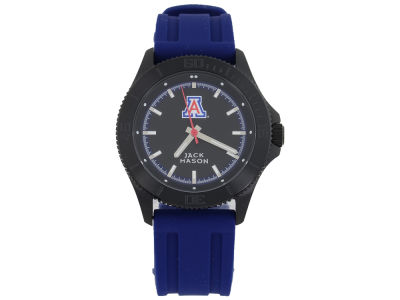 Arizona Wildcats Jack Mason Men's Blackout Silicone Strap Watch
