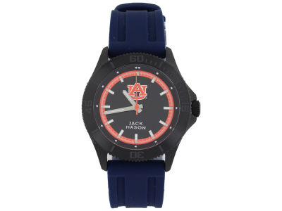 Auburn Tigers Jack Mason Men's Blackout Silicone Strap Watch