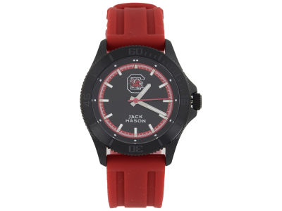 South Carolina Gamecocks Men's Blackout Silicone Strap Watch