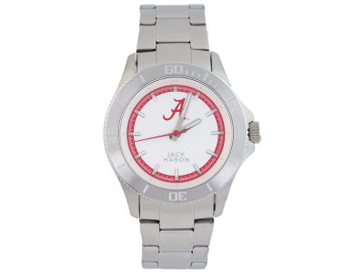 Alabama Crimson Tide Jack Mason Men's Sport Bracelet Silver Watch