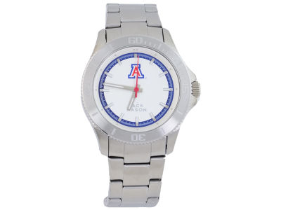 Arizona Wildcats Men's Sport Bracelet Silver Watch