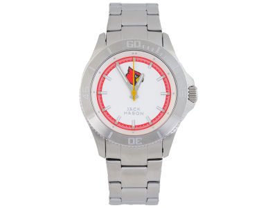 Louisville Cardinals Jack Mason Men's Sport Bracelet Silver Watch