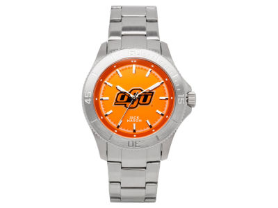Oklahoma State Cowboys Men's Sports Bracelet Team Color Watch