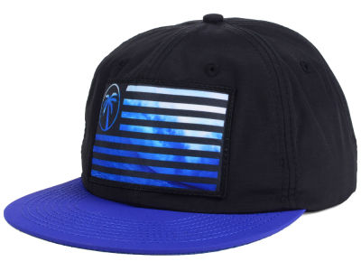 BLVD Express Flag Wave Snapback Hat