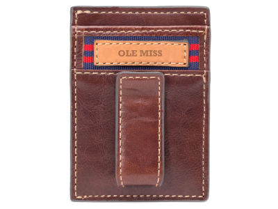 Ole Miss Rebels Jack Mason Mulitcard Front Pocket Wallet