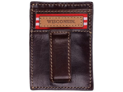 Wisconsin Badgers Jack Mason Mulitcard Front Pocket Wallet