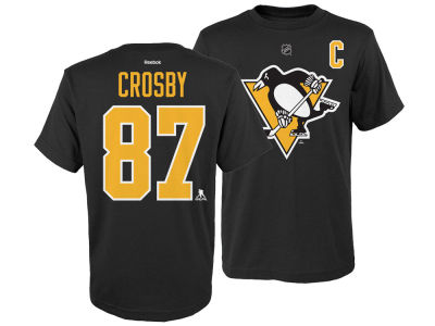 Pittsburgh Penguins Sidney Crosby NHL Youth Player T-Shirt