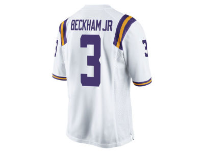 LSU Tigers Odell Beckham Jr. Nike NCAA Men's Player Game Jersey