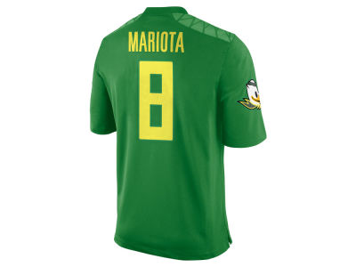 Oregon Ducks Marcus Mariota Nike NCAA Men's Player Game Jersey