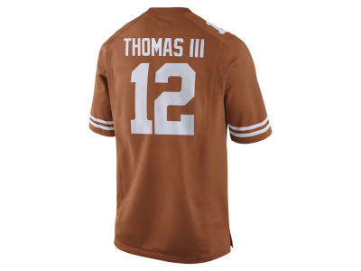 Texas Longhorns Earl Thomas Nike NCAA Men's Player Game Jersey