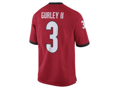 Georgia Bulldogs Todd Gurley Nike NCAA Men's Player Game Jersey