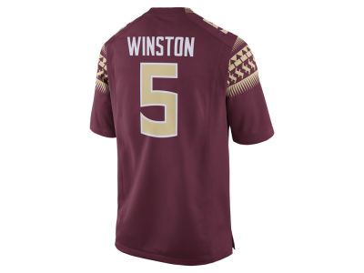 Florida State Seminoles Jameis Winston Nike NCAA Men's Player Game Jersey