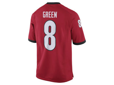 Georgia Bulldogs A.J. Green Nike NCAA Men's Player Game Jersey