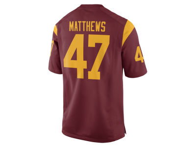 USC Trojans Clay Matthews III Nike NCAA Men's Player Game Jersey