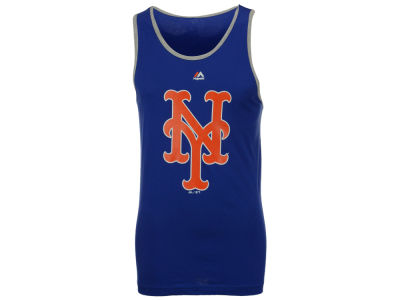 New York Mets Majestic MLB Men's Skill Test Tank