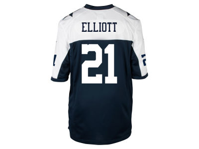 Dallas Cowboys Ezekiel Elliott Nike NFL Game TB Jersey