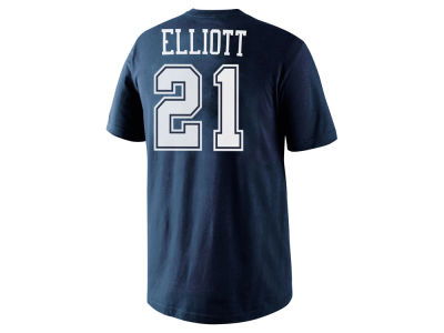Dallas Cowboys Ezekiel Elliott Nike NFL Pride Name and Number T-Shirt