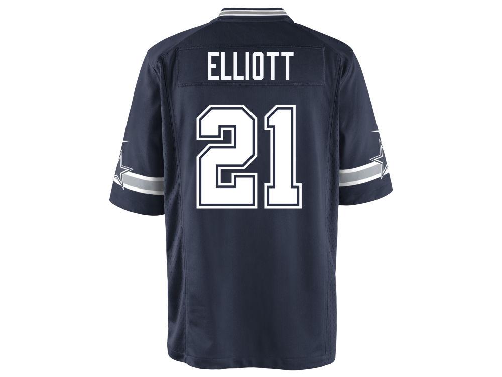 Dallas Cowboys Ezekiel Elliott Nike NFL Youth Game Jersey  914fbe50e