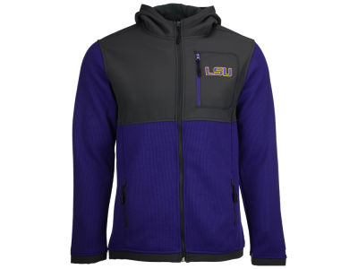 LSU Tigers NCAA Men's Miramar Full Zip Jacket