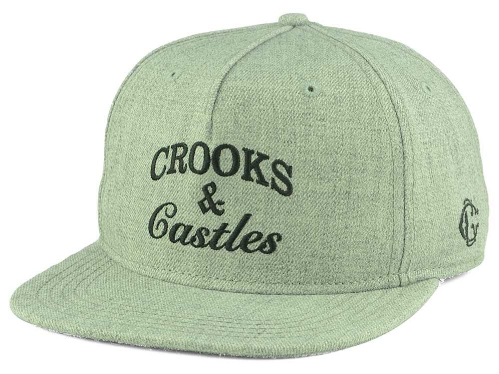 847a238390b Crooks   Castles Timeless Snapback Cap