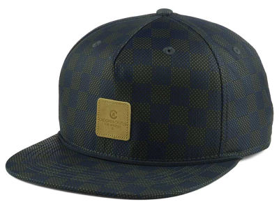 Crooks & Castle Check Snapback Cap