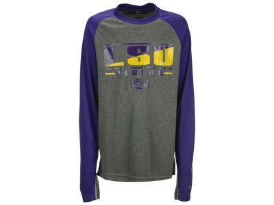 LSU Tigers NCAA Youth Jet Long Sleeve T-Shirt