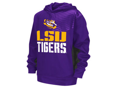 LSU Tigers NCAA Youth Sonic Pullover Hoodie