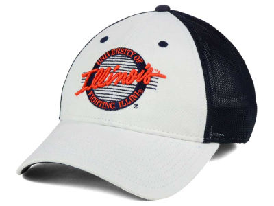 Illinois Fighting Illini The Game NCAA Circle Stretch Cap