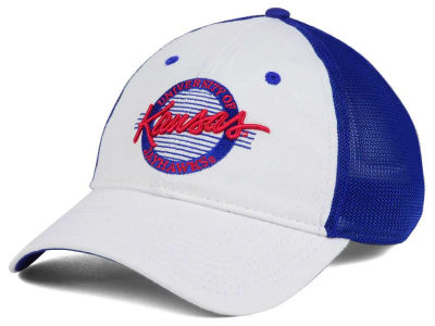 Kansas Jayhawks The Game NCAA Circle Stretch Cap