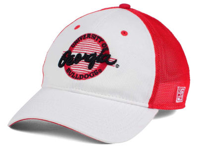 Georgia Bulldogs NCAA Circle Stretch Cap