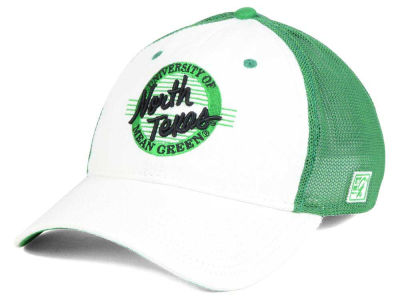 North Texas Mean Green NCAA Circle Stretch Cap
