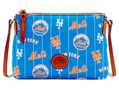 New York Mets Dooney & Bourke Nylon Crossbody Pouchette