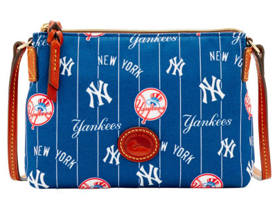 New York Yankees Dooney & Bourke Nylon Crossbody Pouchette