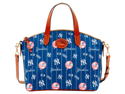 New York Yankees Dooney & Bourke Nylon Satchel